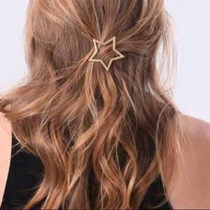 Inspired Closet Accessories - 3 FOR $25 • Delicate Gold Star Hair Barrette 🌟